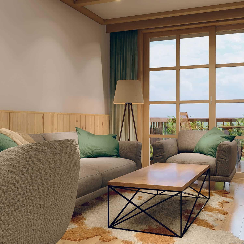 Großzügiger Wohnbereich für entspannte Momente