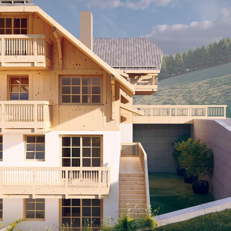 Das Schwarzenbach liegt inmitten der Natur des Schwarzwaldes in Feldberg-Altglashütten