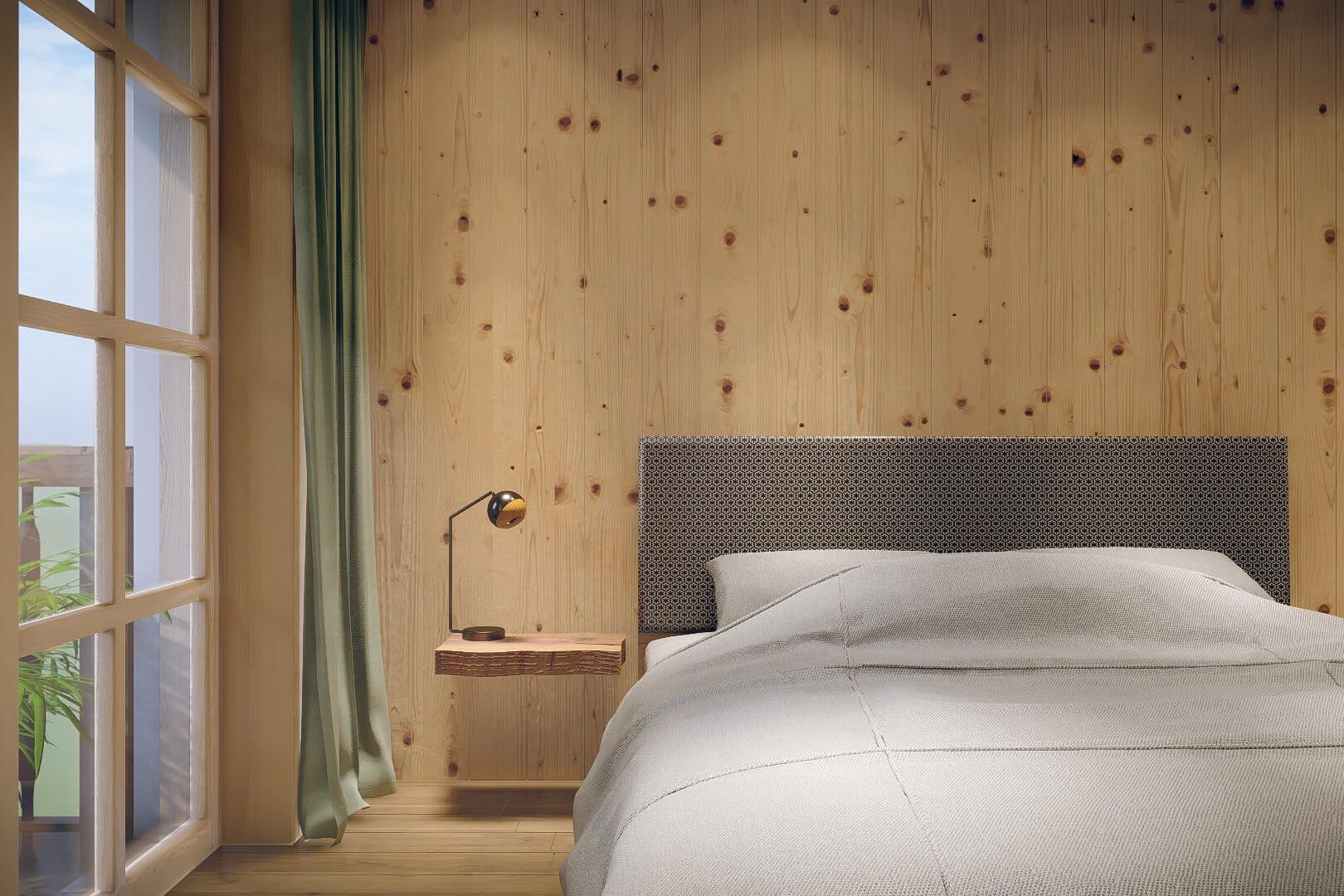 Schlafzimmer mit Schwarzwald Ambiente im Schwarzenbach