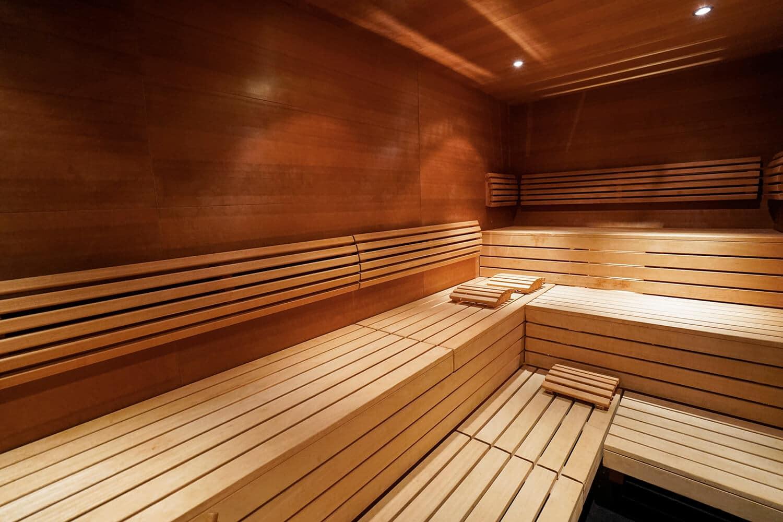 Erholung pur in der Sauna in unseren Ferienwohnungen mit Pool